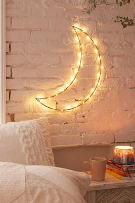 Geo Moon Light Sculpture by Urban Outfitters