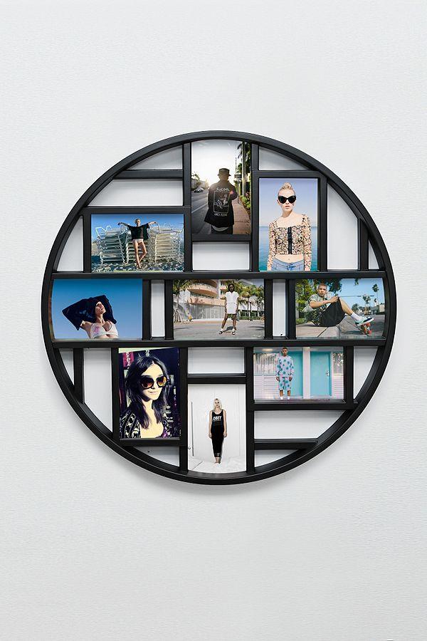 Luna Rahmen für mehrere Bilder in Schwarz | Urban Outfitters