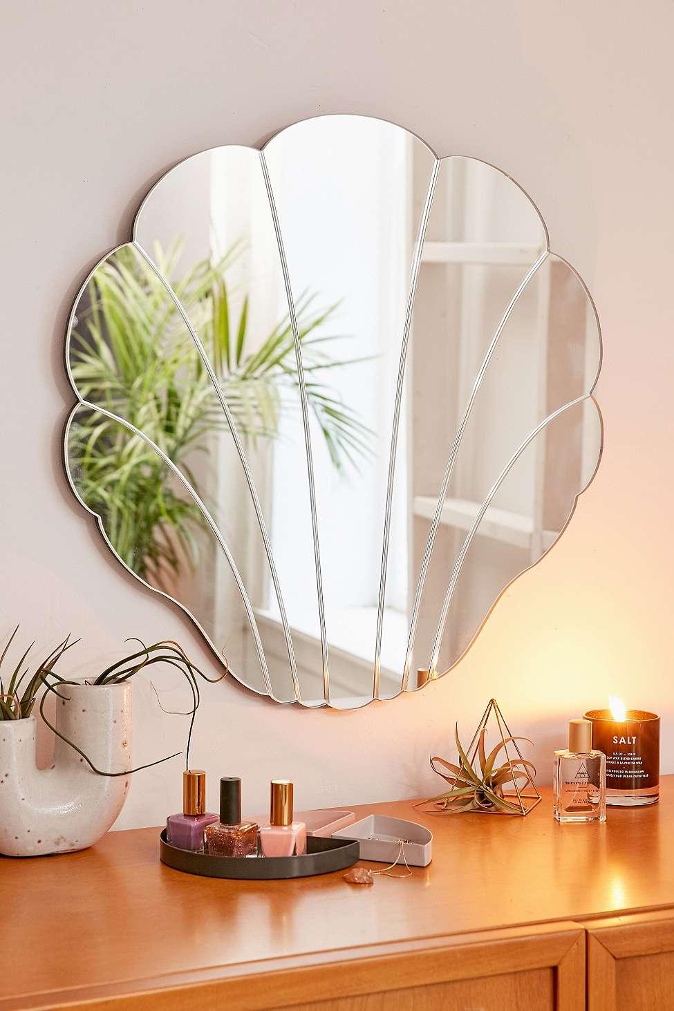 Slide View: 1: Miroir en forme de coquillage