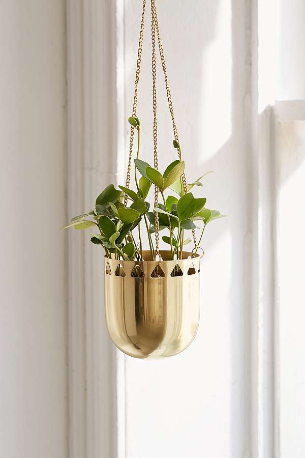 Slide View: 1: Beatrice Cutout Hanging Planter