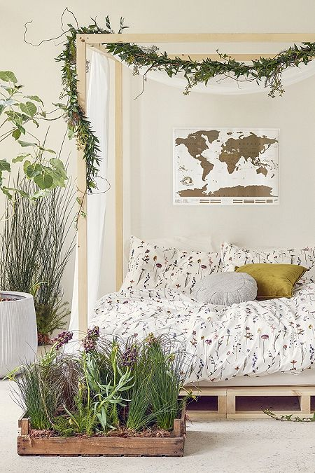 Urban Outfitters World Map Tapestry