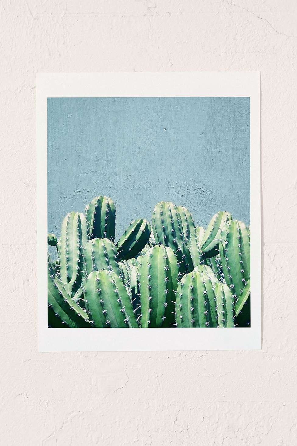 Urban Outfitters Wall Art 83 oranges cactus and teal wall art print | urban outfitters