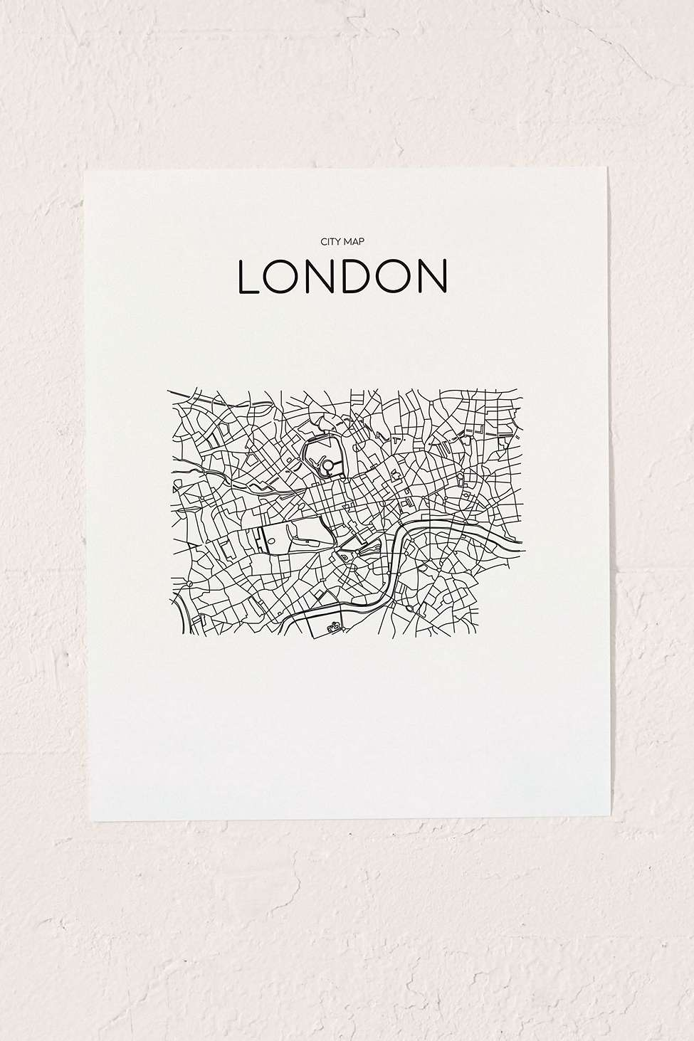 Urban Outfitters Wall Art printable market london city map wall art print | urban outfitters