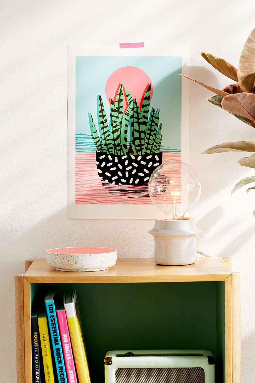 Urban Outfitters Wall Art wacka design amped wall art print | urban outfitters