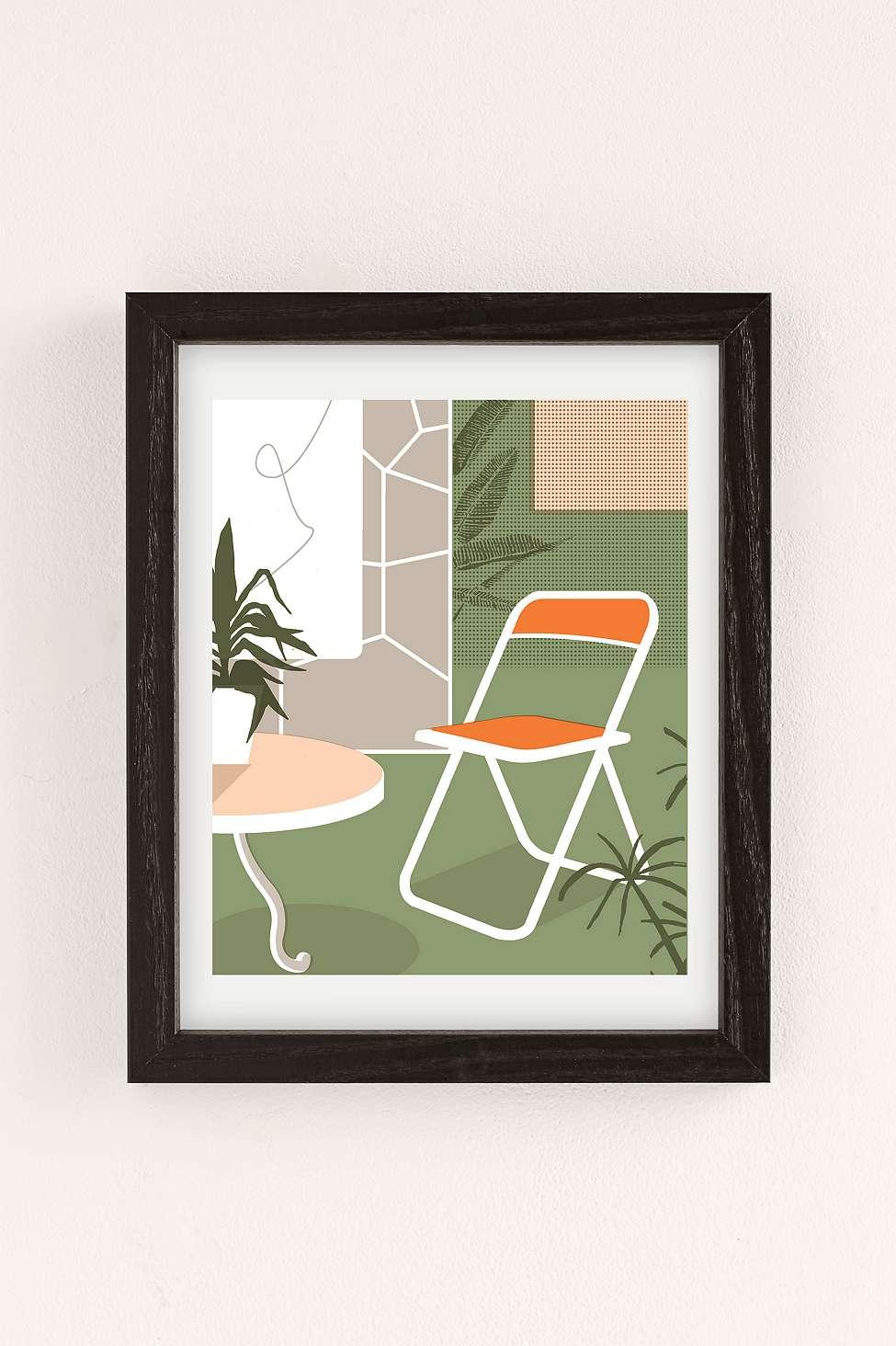 Urban Outfitters Wall Art elena boils chair 2 wall art print | urban outfitters