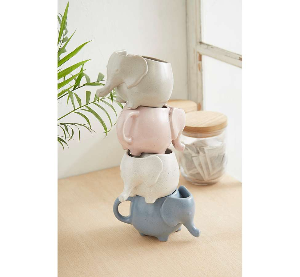 Slide View: 2: Elephant Tea Mug