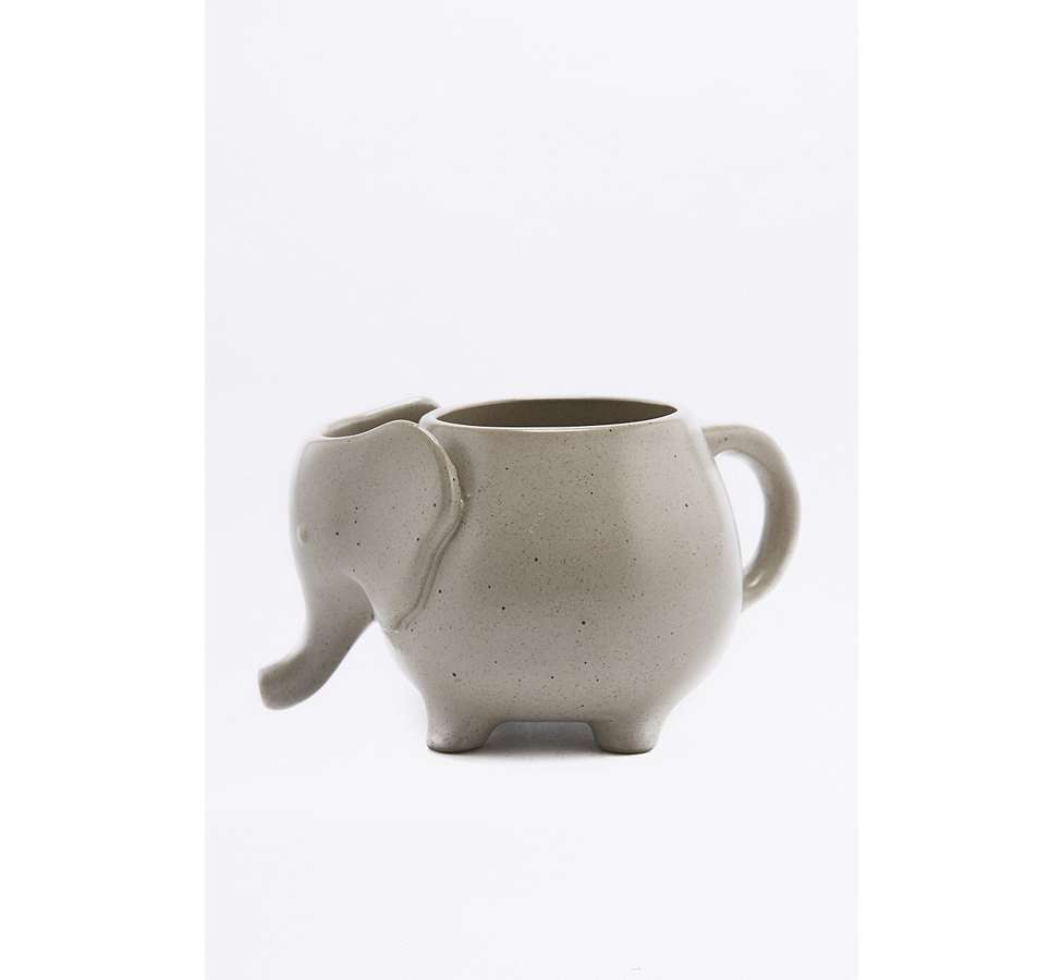 Slide View: 3: Elephant Tea Mug