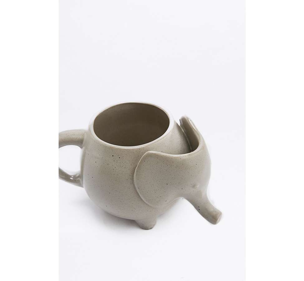 Slide View: 4: Elephant Tea Mug