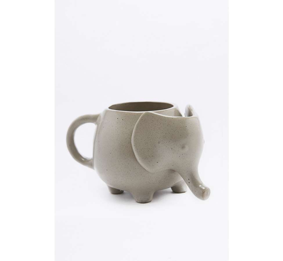Slide View: 5: Elephant Tea Mug