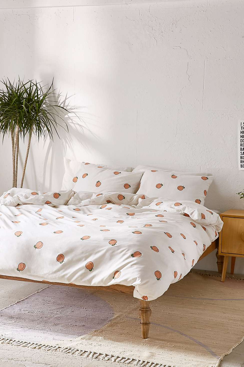 Peach Duvet Cover Set Urban Outfitters