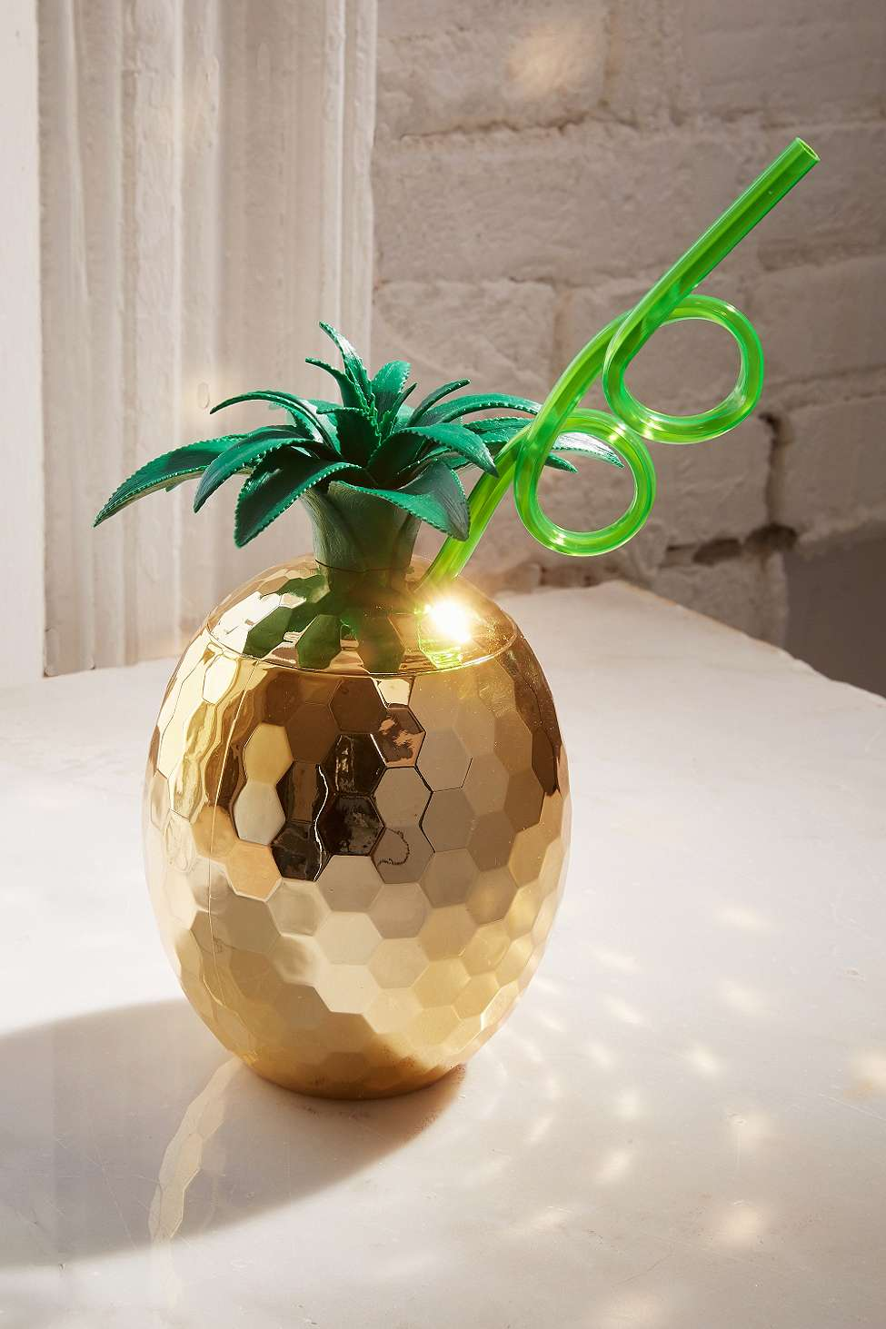 Slide View: 2: Disco Pineapple Sipper Cup