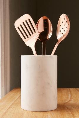 Image of 3-teiliges Set aus Küchenutensilien in Metallic-Kupfer
