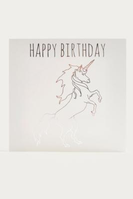 """Image of Geburtstagskarte """"Unicorn"""""""