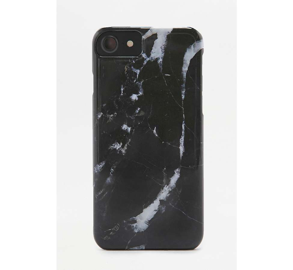 Slide View: 1: Black Marble iPhone 6/6s/7 Case