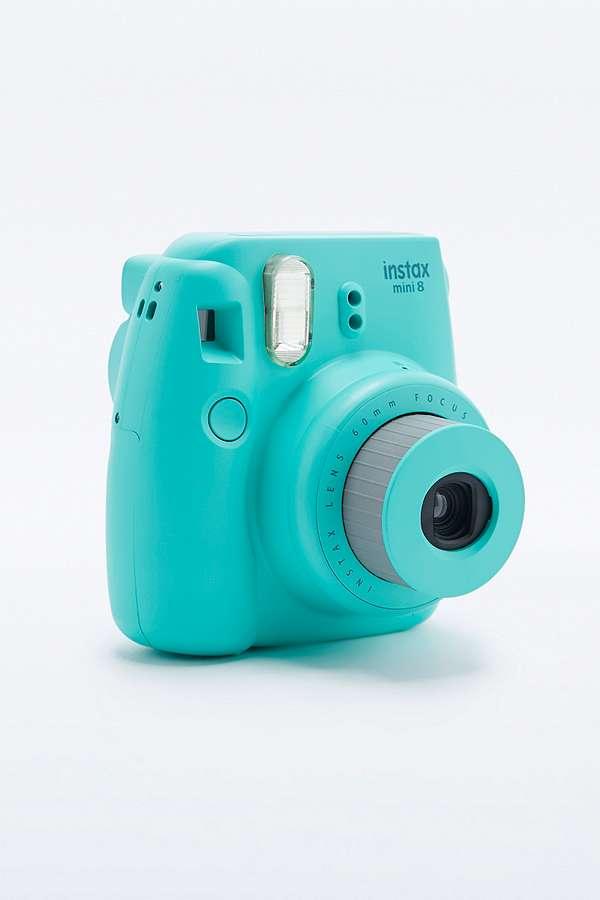 fujifilm instax mini 8 aqua camera urban outfitters. Black Bedroom Furniture Sets. Home Design Ideas