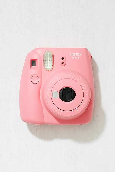 "Slide View: 1: Fujifilm – Sofortbildkamera ""Instax Mini 9"" in Flamingorosa"