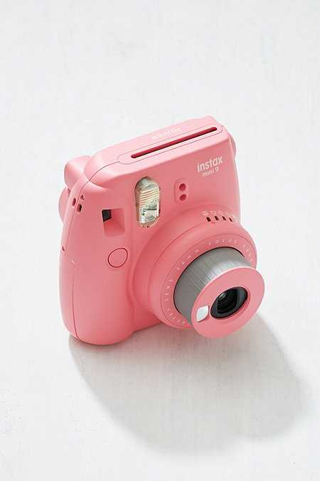 "Slide View: 3: Fujifilm – Sofortbildkamera ""Instax Mini 9"" in Flamingorosa"