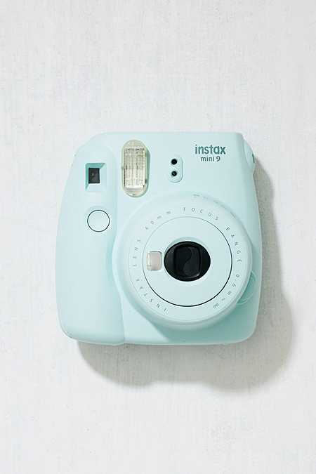 Slide View: 2: Fujifilm Instax Mini 9 Ice Blue Instant Camera