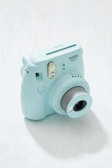 Slide View: 4: Fujifilm Instax Mini 9 Ice Blue Instant Camera