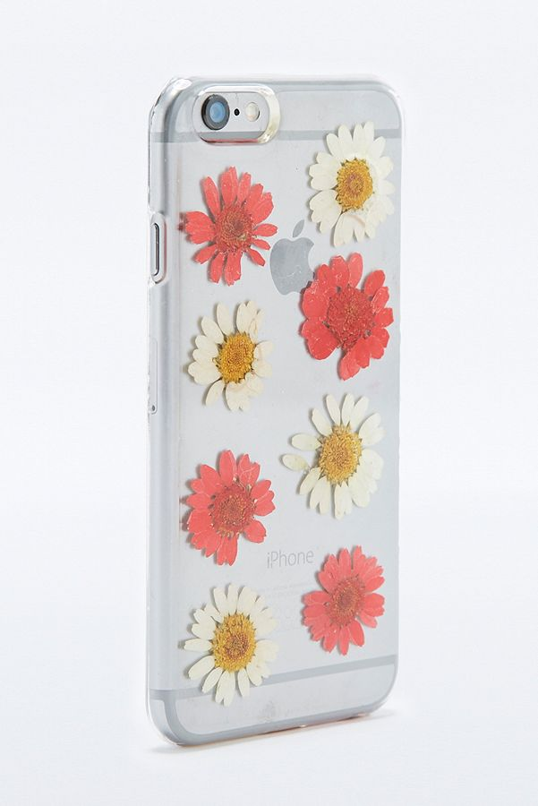 Pressed Flowers Iphone 6 Case Urban Outfitters Uk