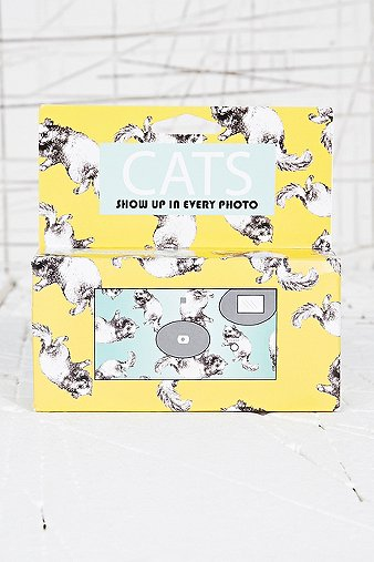 Cats Disposable Camera - Urban Outfitters