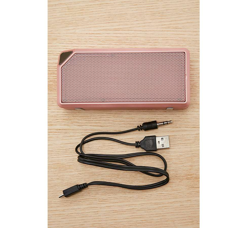 Slide View: 4: UO - Enceinte portative coloris or rose