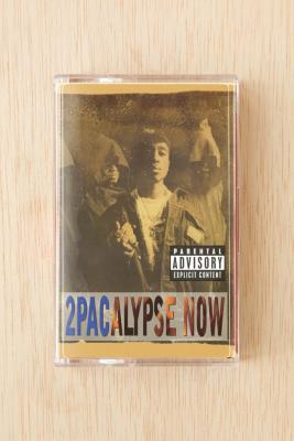 2Pac: 2pacalypse Now Cassette Tape, blue