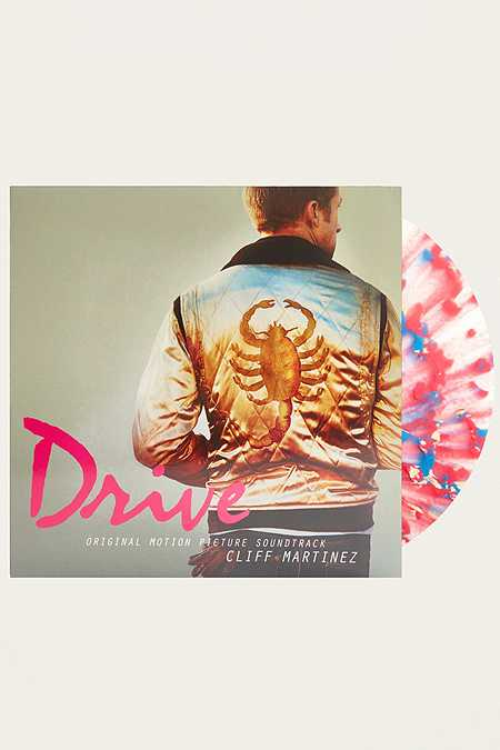 Original Soundtrack: Drive Clear Splatter Vinyl Record
