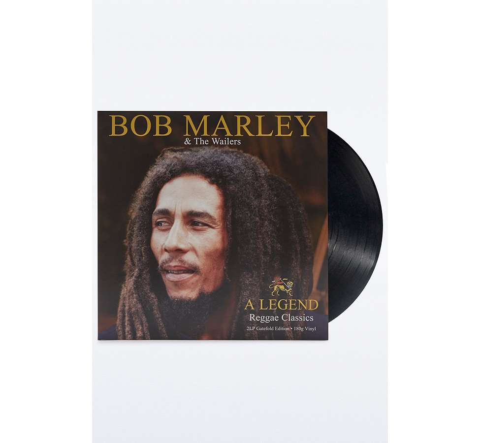 Slide View: 1: Bob Marley & the Wailers: A Legend: Reggae Classic Vinyl Record