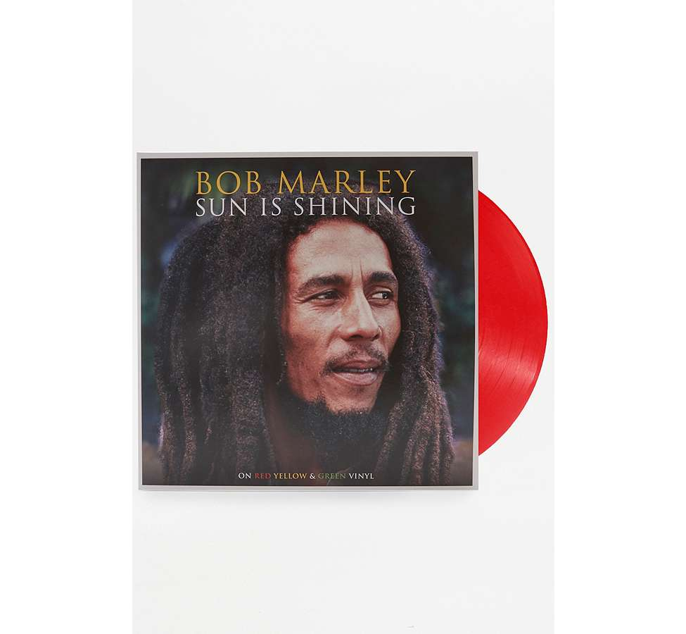 Slide View: 1: Bob Marley: Sun Is Shining Vinyl Record