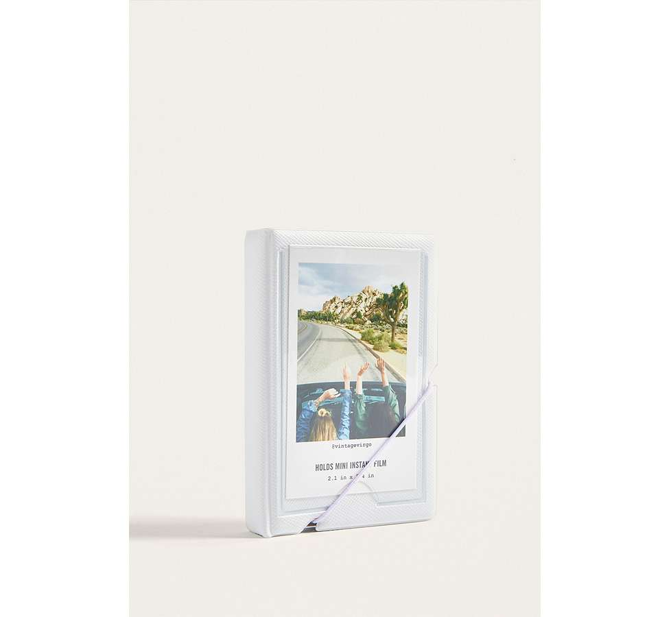 Slide View: 1: Instax Mini White Photo Album