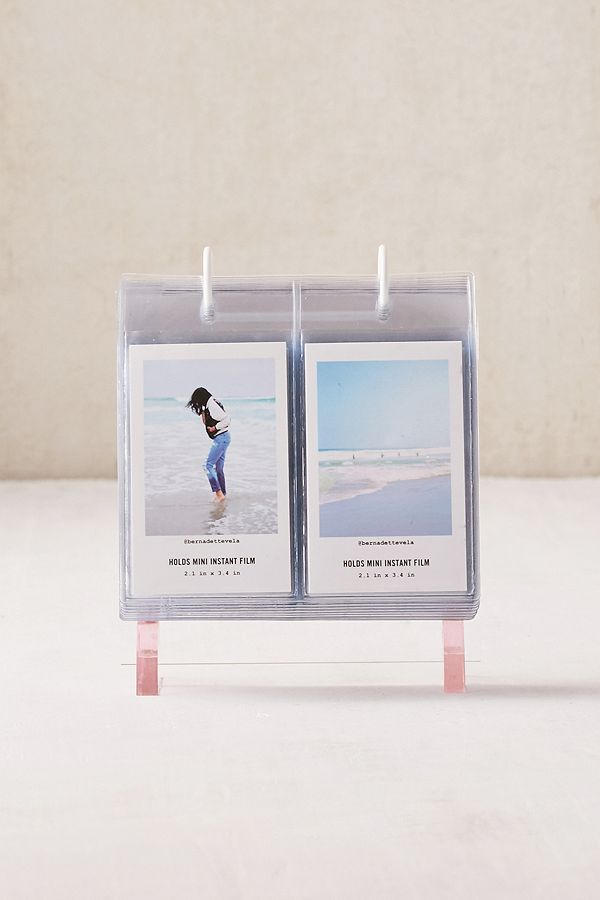 Instax Mini Acrylic Album Photo Frame Urban Outfitters Uk