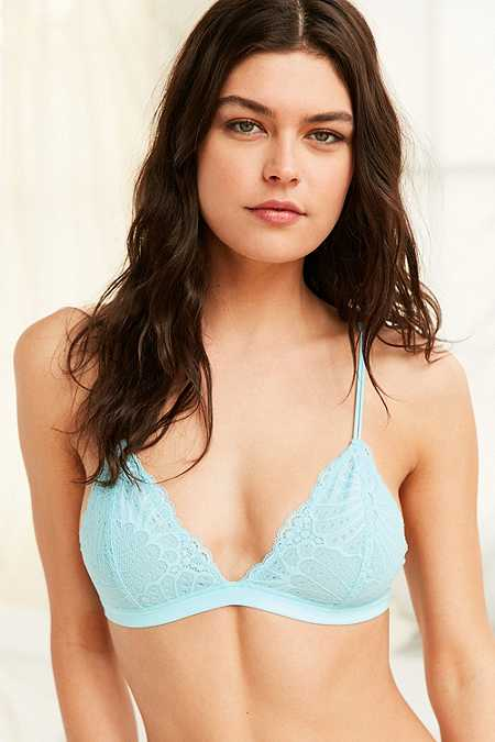 Out From Under Lace Triangle Bralette