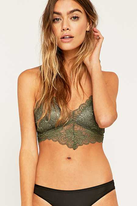 Ina Caged Lace Bralette