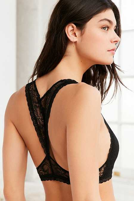 Out From Under Luna Lace Racerback Bralette