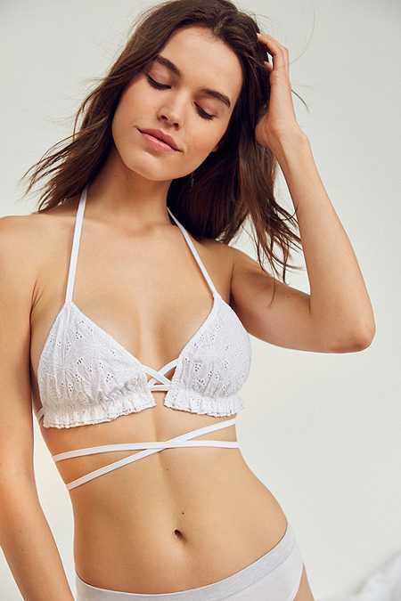 Out From Under Ruby Eyelet Bralette