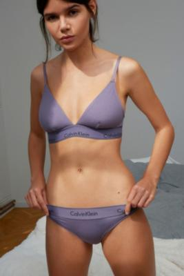 Calvin Klein - Calvin Klein Modern Cotton Tanga, Lilac