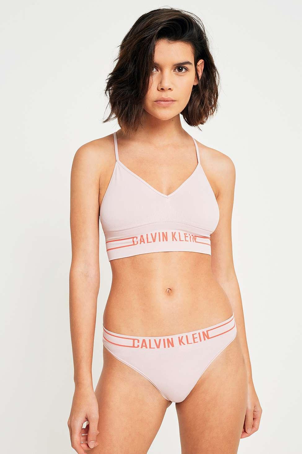 Calvin Klein Pink Bralette, Pink