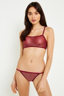 Calvin Klein - Calvin Klein Sheer Mesh Bralette, Assorted