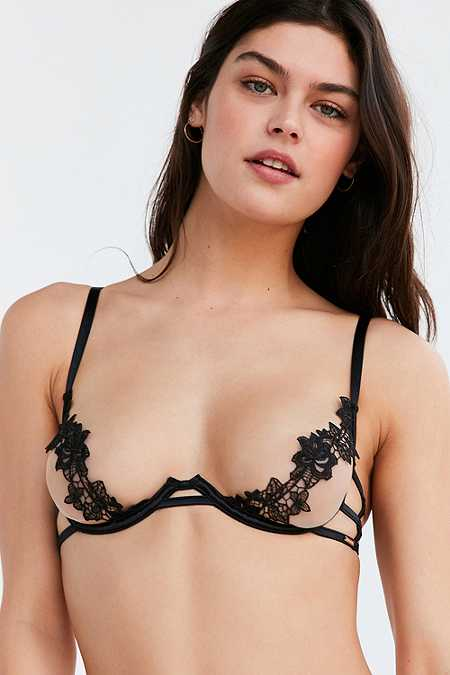 Bluebella Caton Black Bra