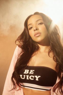 Juicy Couture For UO Cotton Bandeau Bra Black