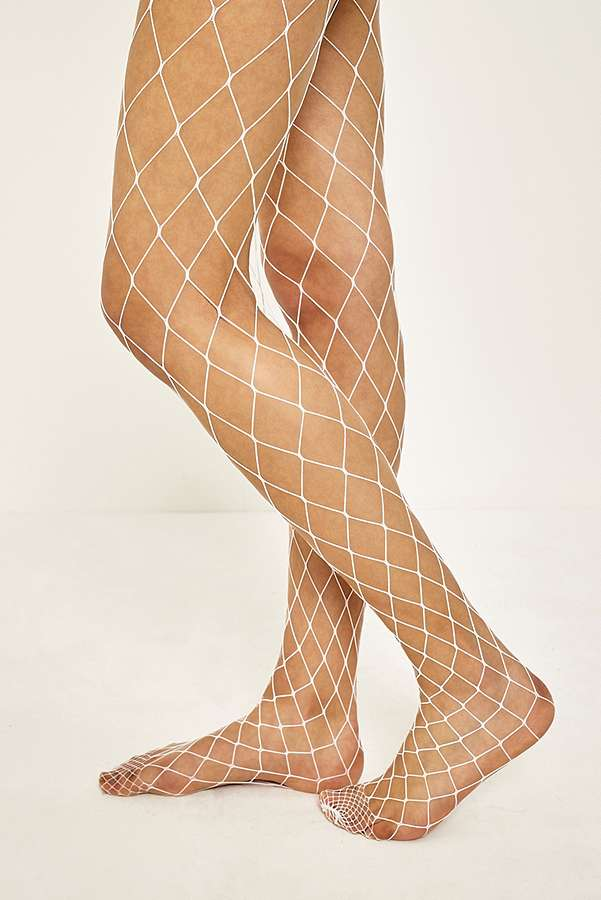 Wide Mesh Fishnet Tights | Urban Outfitters
