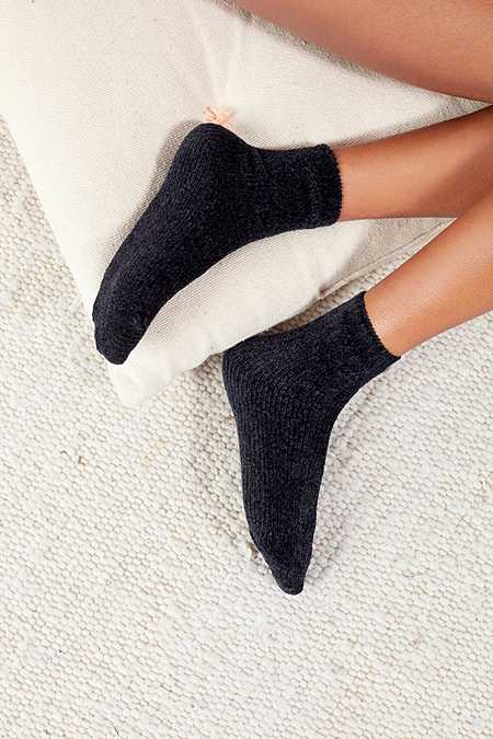 Out From Under Chenille Knit Socks