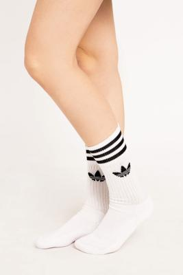 Adidas - adidas White Socks 3-Pack, White