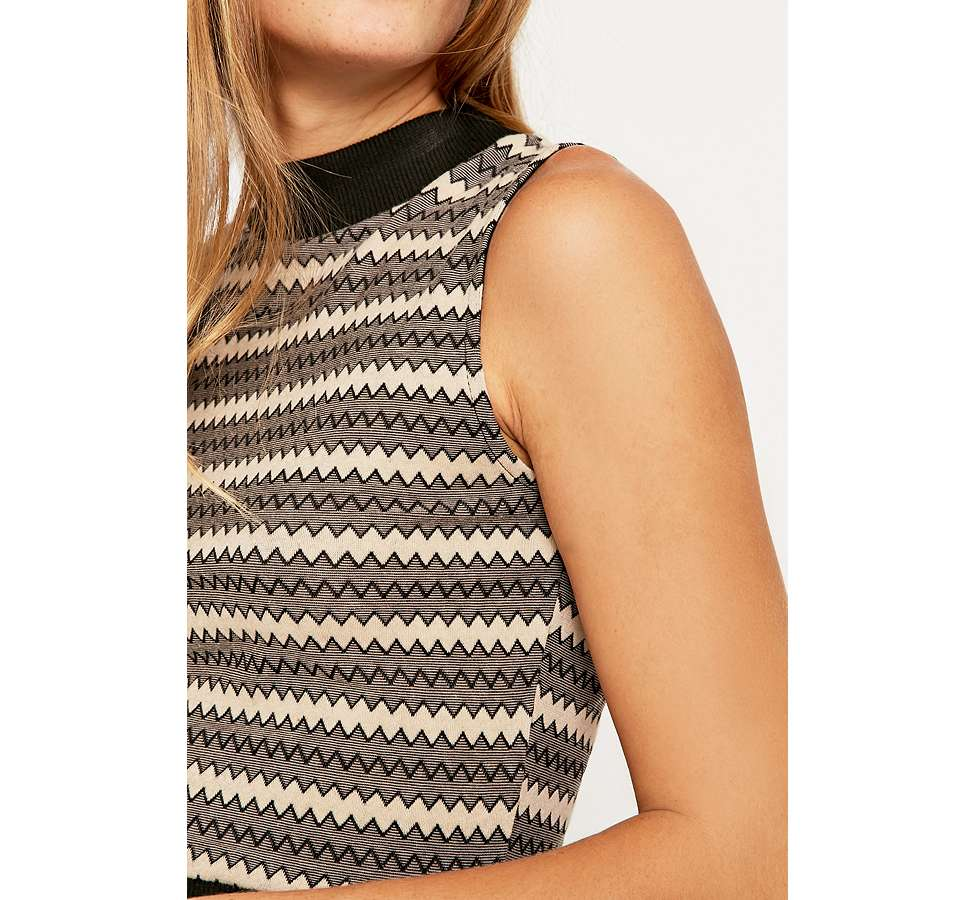 Slide View: 6: Urban Outfitters Jacquard Tank Top