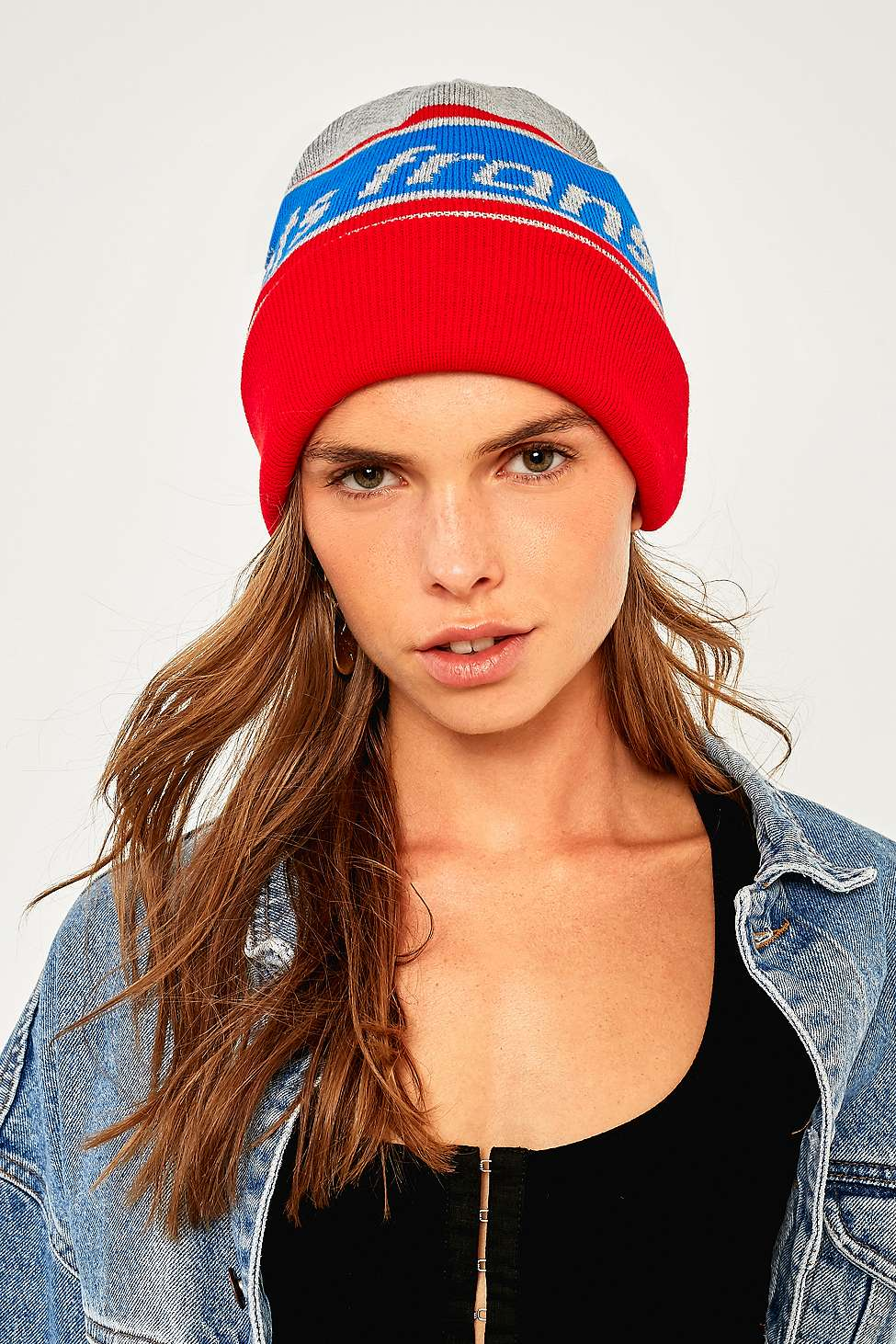 iets frans…  Logo Beanie, Red