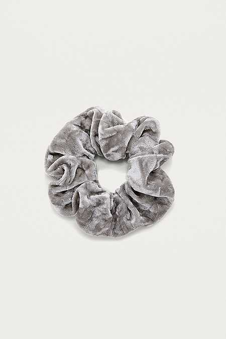 Crushed Velvet Scrunchie Hair Band