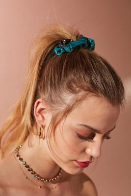 Urban Outfitters - Days Of The Week Scrunchie Set, Tan