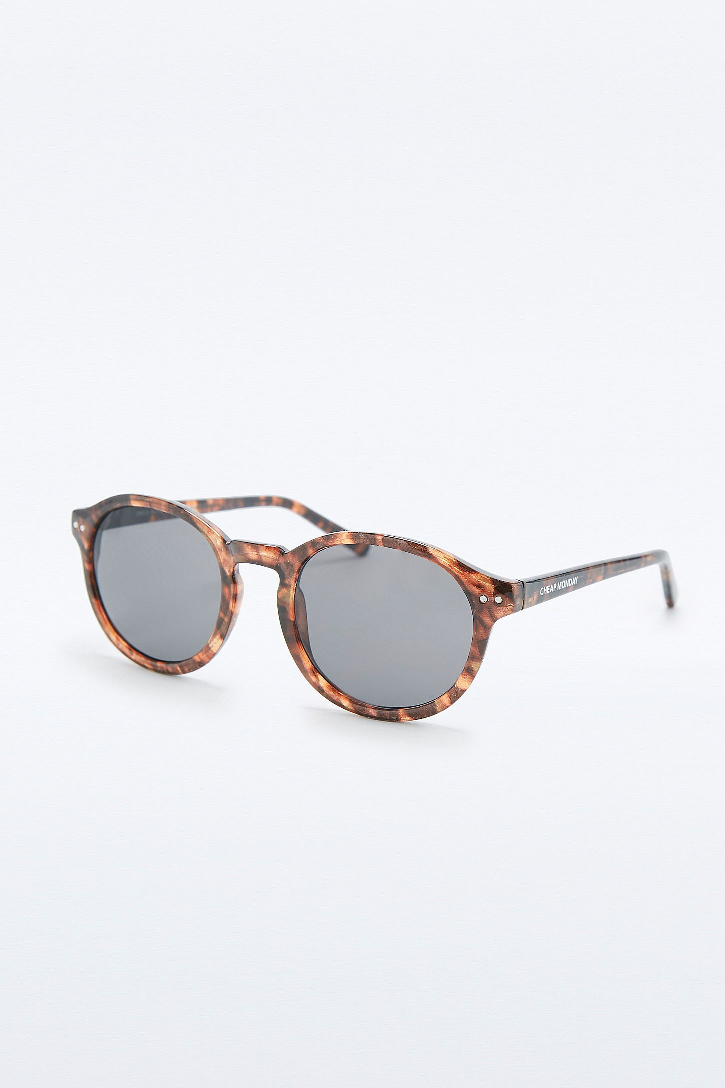 d13c804f4ea Cheap Monday Island Tortoiseshell Circle Glasses. Click on image to zoom.  Hover to zoom. Double Tap to Zoom