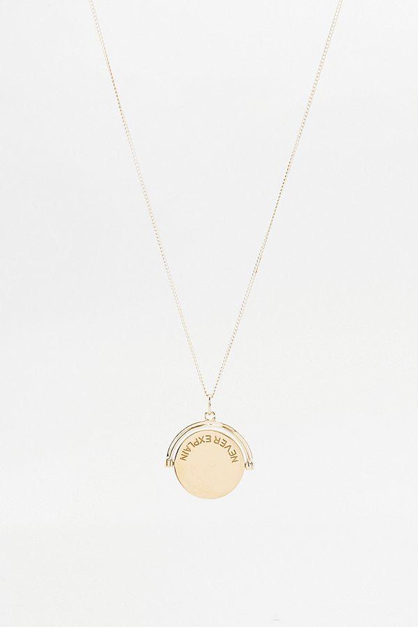 pendant necklace - Metallic Rachel Jackson London yD37i